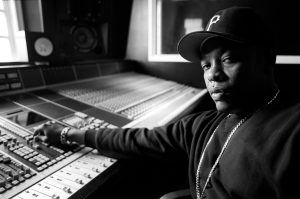 AS 015884 NPP Dr Dre at sound board in recording studio mixing portrait NWA 300x199 - entertainment - The Room Where It Happens - Music, Documentary - The Room Where It Happens