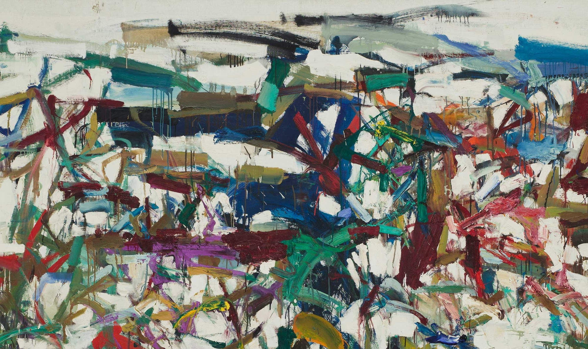 joan mitchell making space 1 - slider, entertainment - New York Art Exhibits - New York, Art - New York Art Exhibits