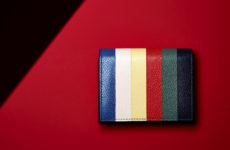 gift guide color banded steven thomBrown wallet