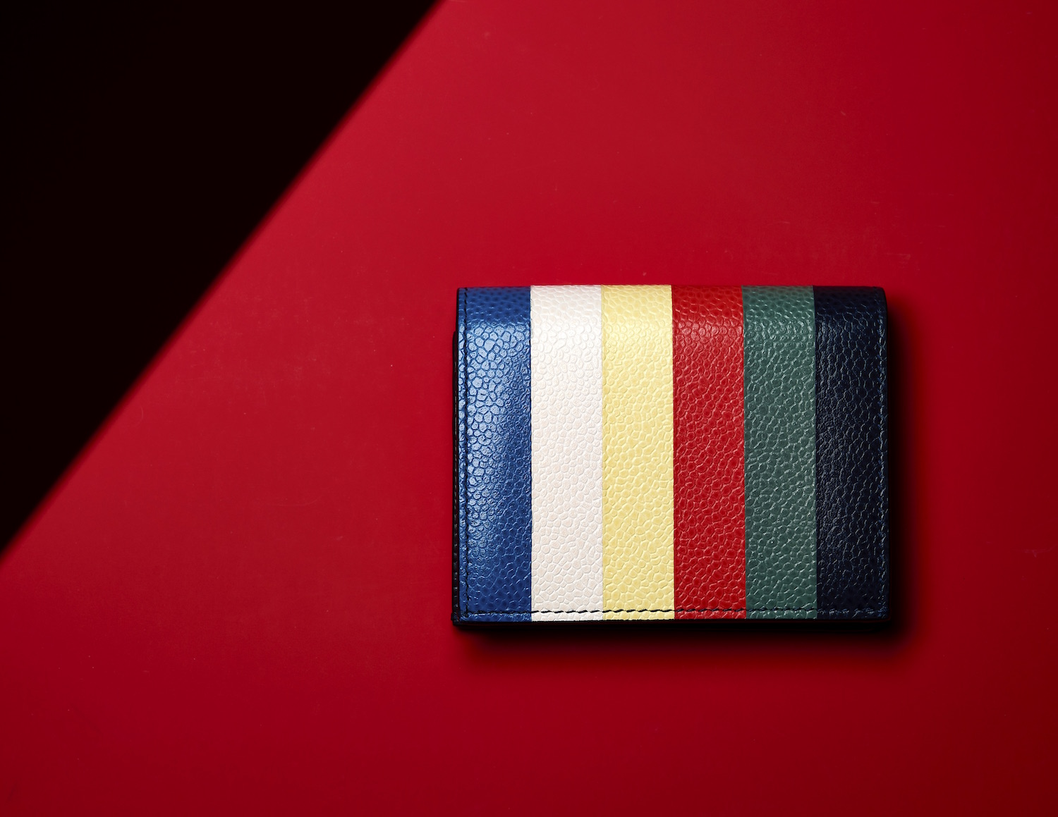 gift guide color banded steven thomBrown wallet
