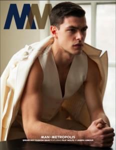 man of metropolis spring fashion issue
