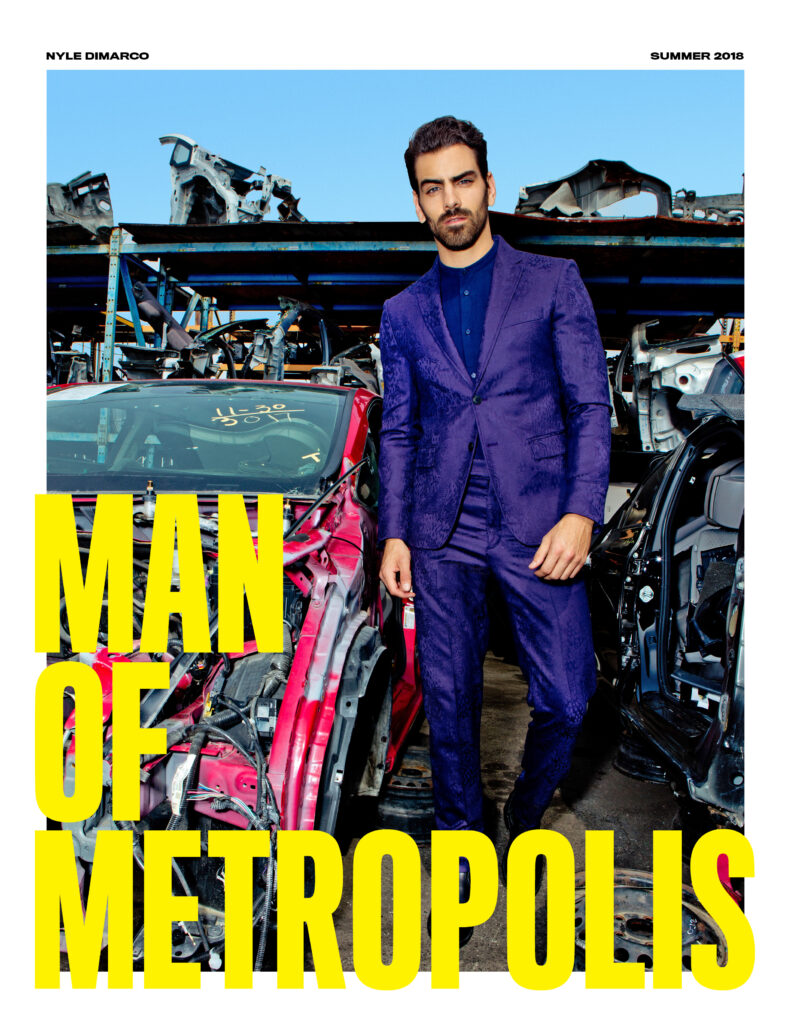 ManOfMetropolis Cover Nyle 791x1024 - fashion, face-time, culture - NYLE DIMARCO -  - NYLE DIMARCO