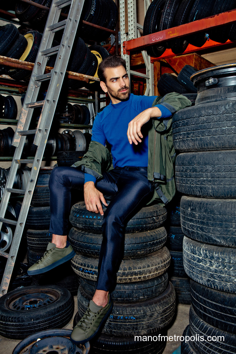 Nyle Dimarco Tires Garage