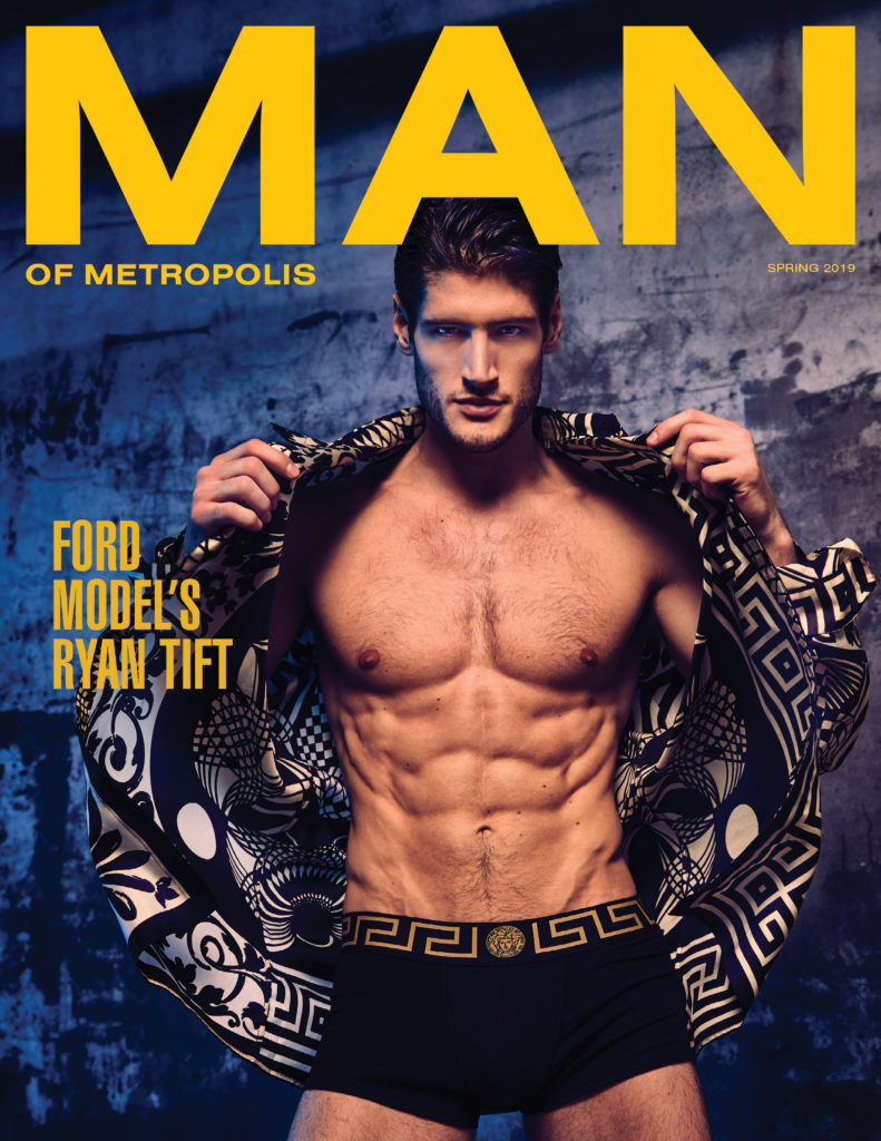 BODY ISSUE COVER Ryan Tift 791x1024 - slider, fashion - MAN ON FIRE - Versace, Spring, male model, Body - MAN ON FIRE