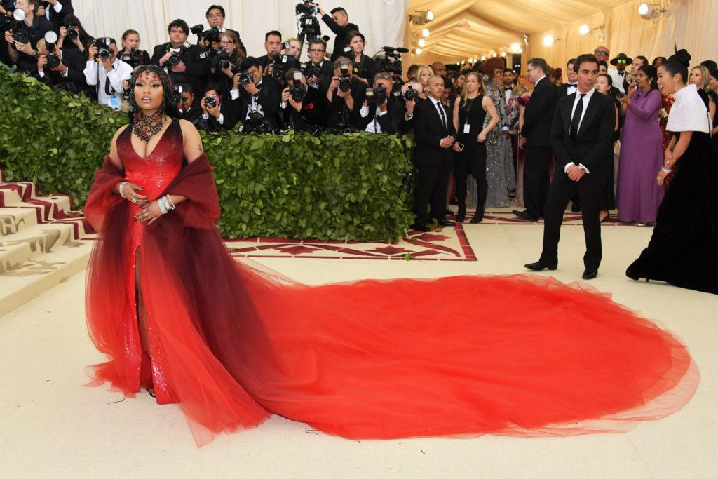Nicki Minaj Met Gala 2018 1024x683 - style, fashion, face-time - BILL WACKERMANN - Interview, CEO - BILL WACKERMANN