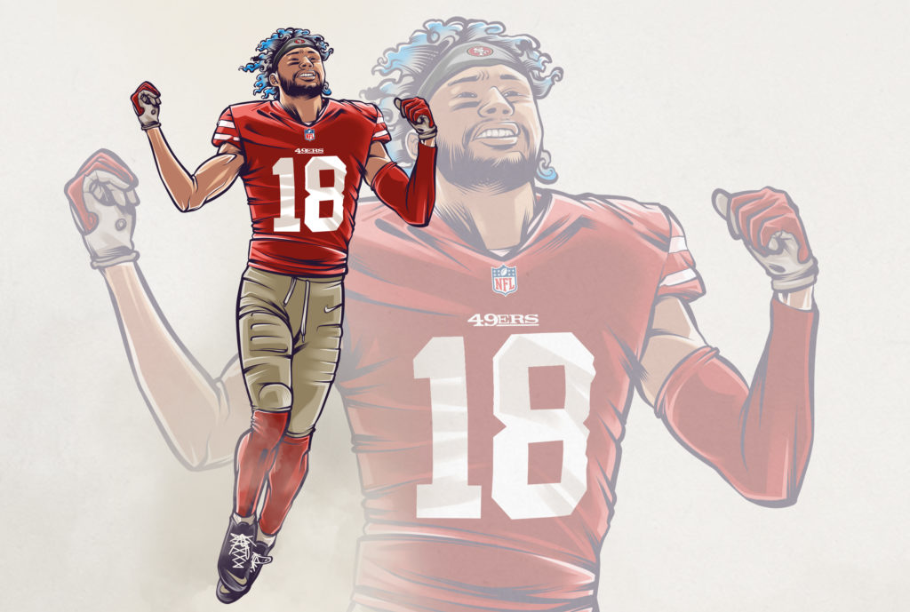 Sethtravis illustration NFL Hires preview 1024x689 - slider, culture - Dante Pettis -  - Dante Pettis