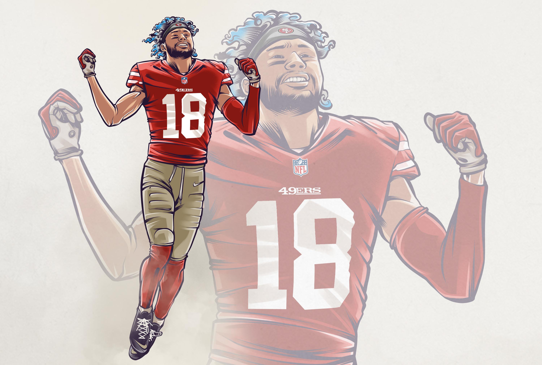Sethtravis illustration NFL Hires preview - slider, culture - Dante Pettis -  - Dante Pettis