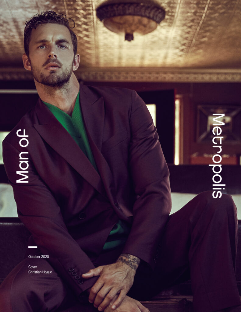 Christian Hogue October 2020 Cover 791x1024 - style, fashion - Gold Rush -  - Gold Rush