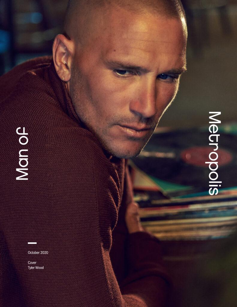 October Cover Tyler Wood Man of Metropolis 791x1024 - style, fashion - Solitude -  - Solitude