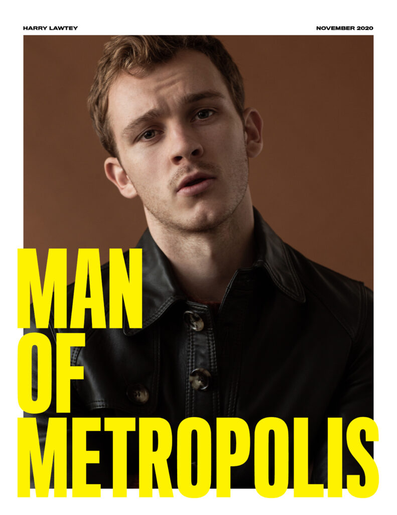 ManOfMetropolis Cover HarryLawtey 791x1024 - style, slider, entertainment - INDUSTRY star Harry Lawtey -  - INDUSTRY star Harry Lawtey